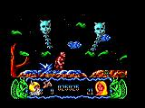 Deliverance: Stormlord II Amstrad CPC A swarm of frogs