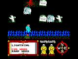 Feud Amstrad CPC The graveyard