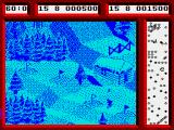 Professional Ski Simulator ZX Spectrum Cruising between those gates