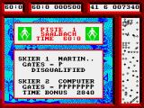 Professional Ski Simulator ZX Spectrum But made it through in the end