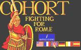Fighting for Rome Atari ST Title screen