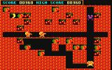 Fruity Frank Amstrad CPC Monsters can also be killed by throwing a ball at them