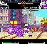 King of Fighters R-2 Neo Geo Pocket Color Saisyu feeling for some few seconds the blazing strength of Orochi Chris' Taiyou wo Iru Honoo...