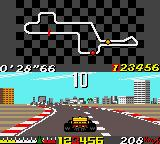 Ayrton Senna's Super Monaco GP II Game Gear Driving around on round 1