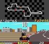 Ayrton Senna's Super Monaco GP II Game Gear Colliding on round 1