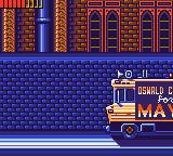 Batman Returns Game Gear You even have to kill a bus with your batarang