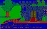 King's Quest PC Booter Begin the game outside the castle (CGA with RGB monitor)
