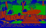King's Quest PC Booter It's a troll bridge! (CGA with RGB monitor)