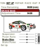 Colin McRae Rally 2005 N-Gage Setting up the car for the stage