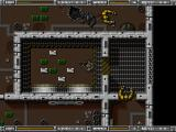 Alien Breed: Tower Assault DOS Science facility.