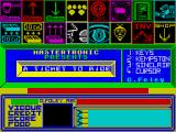 A Ticket to Ride ZX Spectrum Main menu