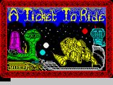 A Ticket to Ride ZX Spectrum Loading screen