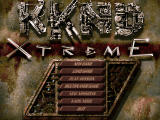 KKND: Krush Kill 'n Destroy Xtreme Windows Main menu.