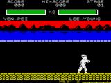 Yie Ar Kung-Fu 2: The Emperor Yie-Gah ZX Spectrum Showing off one of the moves