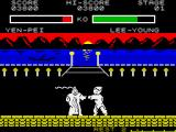 Yie Ar Kung-Fu 2: The Emperor Yie-Gah ZX Spectrum Watch those electric shocks