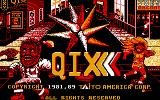 QIX DOS Title screen (MCGA)