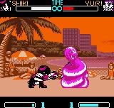 SNK Gals Fighters Neo Geo Pocket Color During her DM Transmigration of Souls, Shiki catches the fighter in a serpent and drain some health.