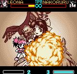 SNK Gals Fighters Neo Geo Pocket Color Using her perforator-exploding DM Rebel Spark, Leona puts a end in the battle against Nakoruru!