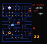 Pac-Man NES Normal gameplay