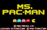 Ms. Pac-Man Lynx Splash screen