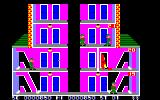 Elevator Action Amstrad CPC Going into a red door
