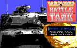 Abrams Battle Tank DOS Title screen