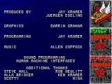 Flying Tigers DOS The credits