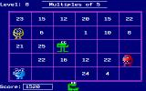 Number Munchers DOS As you progress in the game, there are more Troggles around, making it more difficult