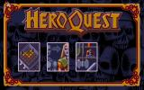 Hero Quest: Return of the Witch Lord Atari ST Title screen