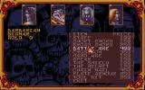 Hero Quest: Return of the Witch Lord Atari ST Buying equipment