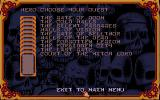Hero Quest: Return of the Witch Lord Atari ST Expansion pack quests