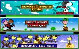 Snoopy's Game Club DOS Main menu (MCGA/VGA)