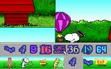 Snoopy's Game Club DOS Snoopy's Animated Puzzle - Select the number of pieces (MCGA/VGA)