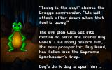 Dig It! DOS Intro scene (Dug's dark day is upon him, scary)
