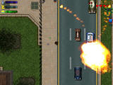 Grand Theft Auto 2 Windows Stay away from explosions or you will be killed.