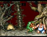 Ultimate Body Blows Amiga CD32 Dragon vs Dug
