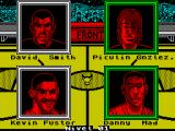 Magic Johnson's Fast Break ZX Spectrum Today's match up