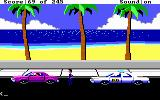 Police Quest: In Pursuit of the Death Angel DOS Pulled over a suspect... (EGA/Tandy/MCGA)