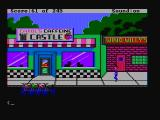 Police Quest: In Pursuit of the Death Angel DOS D'oh! I didn't close my car door and now someone stole it! (CGA with composite monitor)