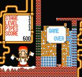 Gorby's Pipeline NES Game over!