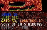 Lemmings Lynx Level 1 briefing