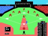 MSX Baseball MSX Good hit!