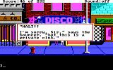 Leisure Suit Larry in the Land of the Lounge Lizards DOS Trouble getting into the disco