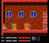 Teenage Mutant Ninja Turtles NES End of Area 1, The fight with Rocksteady, Greenwich Village Warehouse