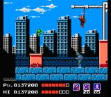 Teenage Mutant Ninja Turtles NES Area 3 - Wall Street. Mecca Turtle - Area boss