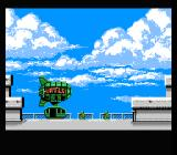 Teenage Mutant Ninja Turtles NES Boarding the Blimp to get to Shredders Base in the South Bronx