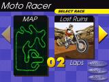Moto Racer Windows track selection