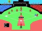 MSX Baseball II MSX Safe at first base