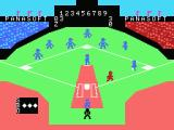 MSX Baseball II MSX Player running to the first base