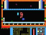 Strange Loop MSX Shoot that big red alien with your laser gun